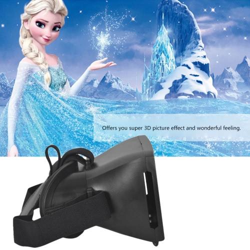 Andoer Google papelão versão 3D VR óculos Virtual Reality DIY 3D VR vídeo filme jogo óculos cabeça montar com Headband para iPhone Samsung / 3.5 todos ~ 6,5