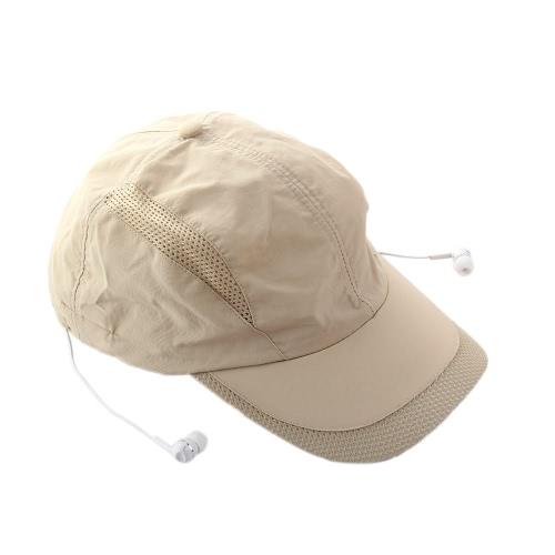 Стильная BT Музыка солнце шляпа наушников популярные BT 4.0 + EDR стерео музыки шапка наушники Topee Спорт достиг максимума Cap & BT гарнитура 2-в-1 поддерживает свободные руки говорить для смарт-телефонов, планшетных ПК