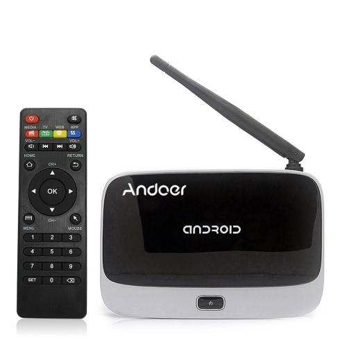 Kodi Andoer CS918 Android 4.4 TV Box Rockchip RK3188T Quad Core Cortex A9  WiFi OTG BT 4.0 -2G / 32G US Plug