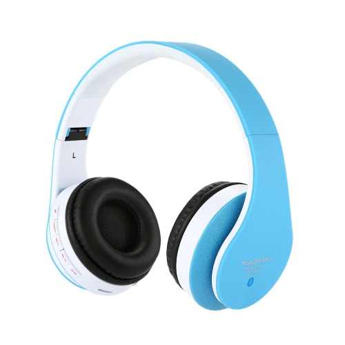 STN-12 Stereo Bluetooth Headphone 4 in 1 Multifunctional Wireless Stereo Bluetooth 3.0 + EDR Headset & 3.5mm audio Jack Music Earphone Hands-free with Mic MicroSD / TF Music MP3 Player FM Radio for Apple iPhone 6 plus 6 5S 5 / iPad Air iPad Mini 3 2 / Samsung Galaxy S6 S5 S4 S3 Galaxy Note 4 3 2 HTC Tablet PC Desktop Notebook Laptop