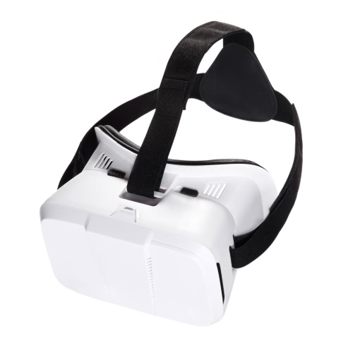 Head-mounted Universal 3D VR Glasses Virtual Reality Video Movie Game Glasses with Headband for Google Cardboard iPhone 6S 6 Plus Samsung S5 S4 All 4 ~ 6