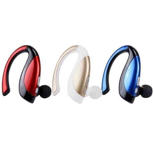 Беспроводная стереогарнитура Bluetooth X16 Беспроводная стереогарнитура Bluetooth-вкладыши Bluetooth 4.1 Музыкальные наушники Hands-free w / Mic для iPhone 6S 6 iPad iPod LG Samsung S6 Примечание 5 Смартфоны с планшетным ПК Устройства с поддержкой Bluetoo