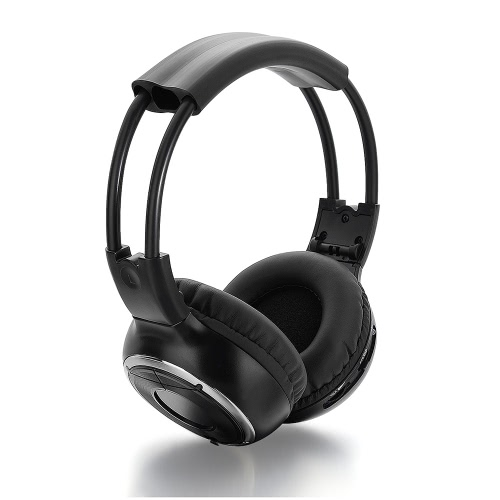 IR Infrared Wireless Stereo Headset for Car Use