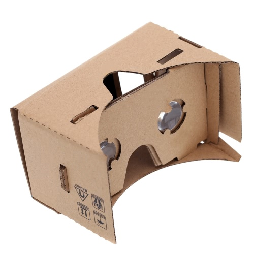 "DIY Google Cardboard Virtual reality VR Mobile Phone 3D Glasses for 4.5"" Screen"