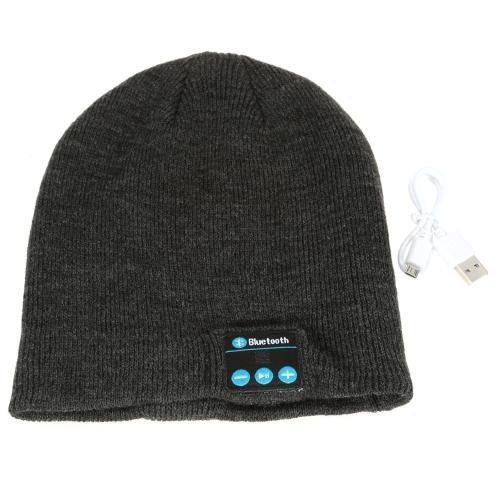 بلوتوث الموسيقى لينة دافئ قبعة قبعة قبعة مع ستيريو سماعة