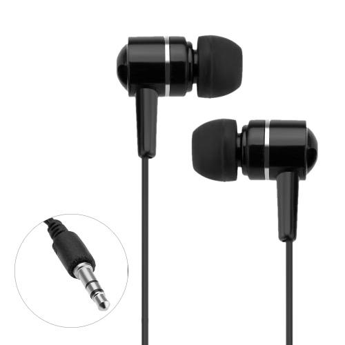 Fone de ouvido estéreo Binaural de pistão na orelha