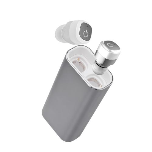 K6 True Wireless TWS Bluetooth 4.0 Kopfhörer mit 2100mAh Notstrombank