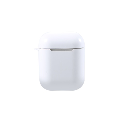 QI Wireless Charging Box Силиконовый противоударный защитный чехол для Air Pods Белый
