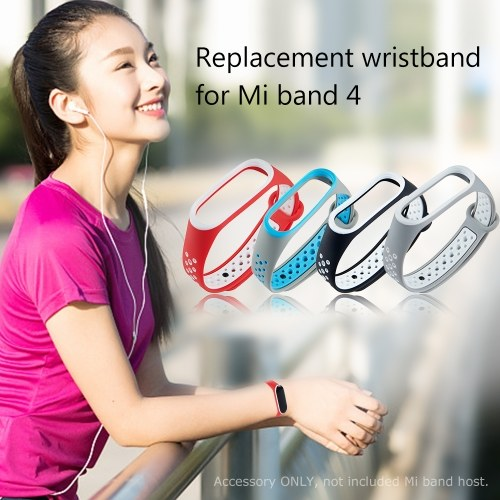 Для Xiaomi Mi Band 4 Ремешок Браслет Спортивный Ремешок Красочные Браслет Замена для Mi Band 4 Смарт-Аксессуары фото