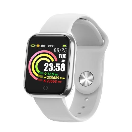 Bracelet QW21 Moniteur de fréquence cardiaque Smart Band Mesure de la pression artérielle Podomètre Bracelet IP67 Imperméable