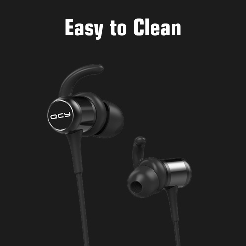 QCY M1c Wireless In-ear Headphones Stereo Music Earbuds Sports Headset BT5.0 Waterproof and Sweatproof with Mic