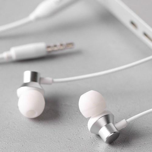 Lenovo HF130 Headphones In-ear Wired Headset 3.5mm Jack Earphone for Smartphone MP3