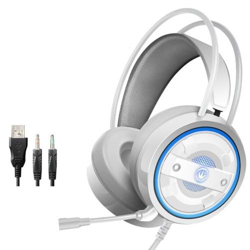 G60 Stereo Gaming Headset Surround Bass Fone de ouvido para jogos