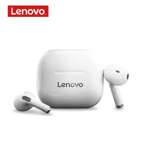 Lenovo LP40 TWS Ohrhörer Bluetooth 5.0 True Wireless-Kopfhörer Touch Control Schweißfester Sport-Headset In-Ear-Kopfhörer mit Mikrofon 300mAh Ladekoffer
