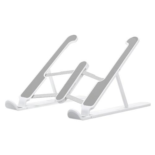 Supporto per laptop pieghevole da tavolo Supporto per laptop regolabile a 6 livelli Supporto per laptop con raffreddamento ventilato portatile