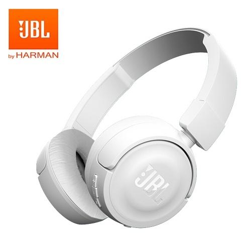 JBL T450BT Casque Bluetooth sans fil pliable sur l'oreille Casque Pure Bass Music Écouteur Mains libres avec micro