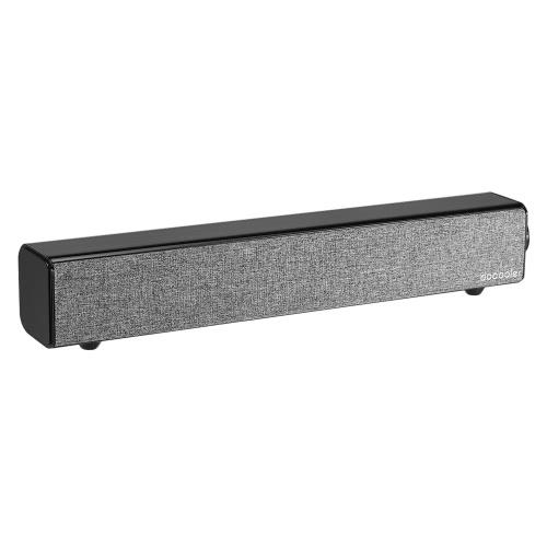 Docooler BT 4.0 Динамики 4400mAh Встроенная батарея Deep Bass AUX-IN Black фото