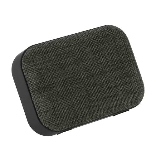 Haut-parleur en tissu sans fil Haut-parleur sans fil TF Card USB Radio FM Line in pour Smart Phone Tablet Grey