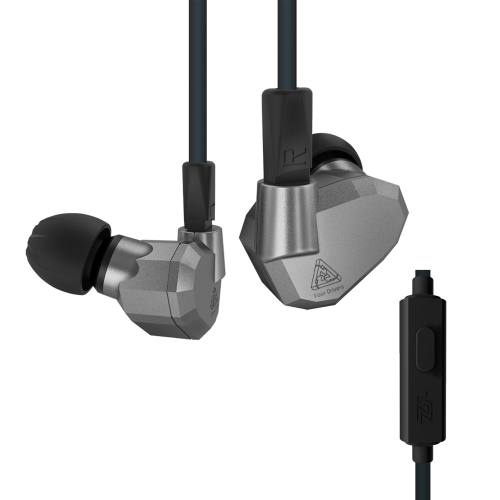 KZ ZS5 3.5mm Wired In Ear Headphones w / Microphone