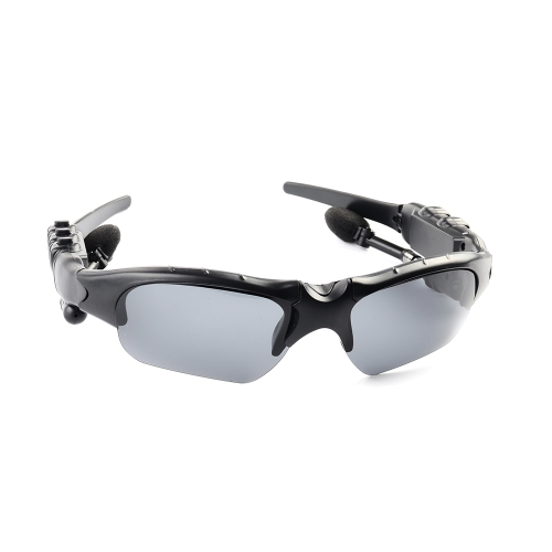 Casque stéréo de lunettes de soleil stéréo rotatif sans fil de Bluetooth