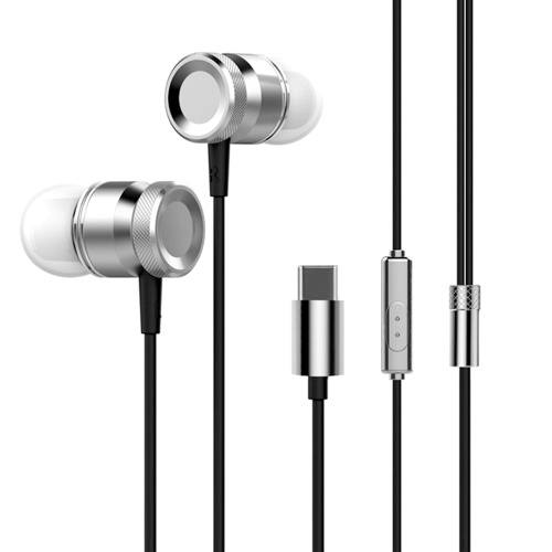 USB Type-c In-Ear Wired Metal ...