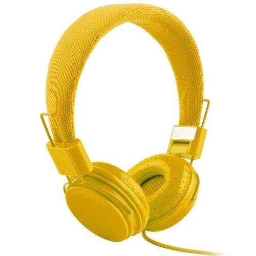 EP05 Fone de ouvido com fio portátil dobrável com microfone