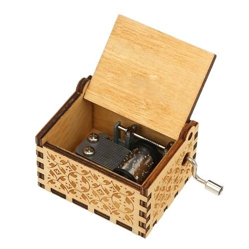 Vintage Wooden Theme Music Box à musiqu