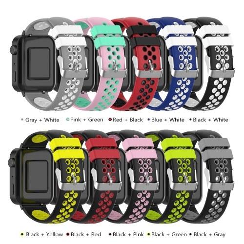 Ремешок для часов MI Watch Unisex Силиконовый браслет на запястье Несколько цветов по выбору фото