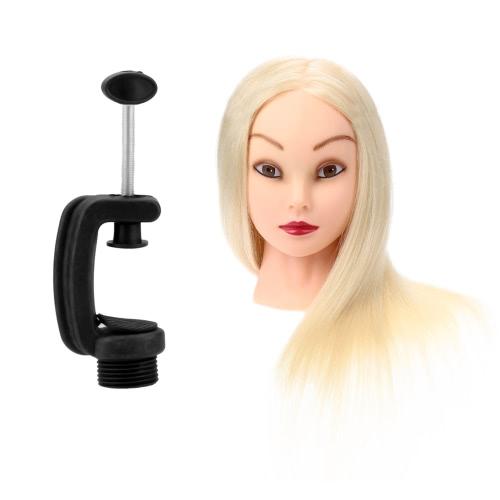 Cosmetology Hairdressing Training Mannequin Head with Stand Hair Styling Practice Model