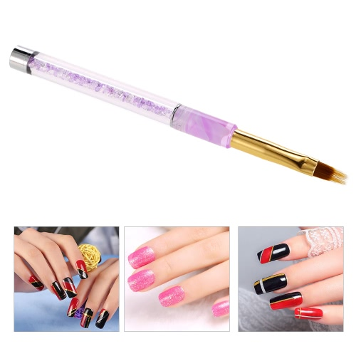 1pc Nail Art UV Gel Painting Pen Brush Nail Art Gradient Color Brush Acrylic UV Gel Polish 3D Tips Effect Design Tools, TOMTOP  - buy with discount