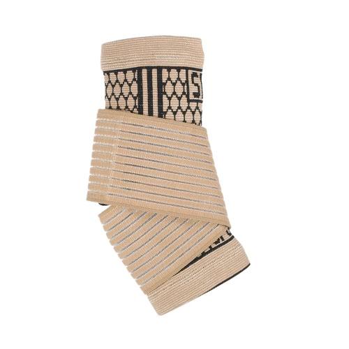 1шт черный лодыжки колодки для ног Wrap Brace Упругие поддержки лодыжки бинты Поддержка спорта ног Ремни боли Сбросьте Unisex