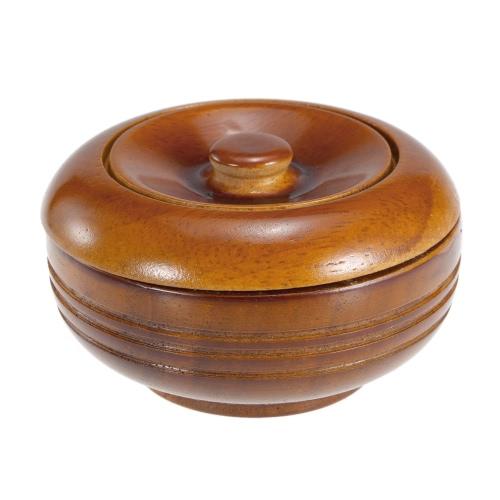 Hochwertige Holz Rasierpinsel Bowl Rasieren des Bechers Shave Cream Soap Cup Male Gesichtsreinigung Seife Schale mit Deckel