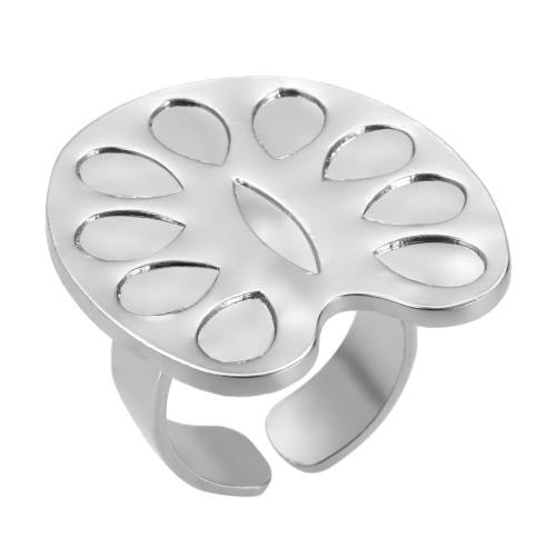 Mini Nail Art Farbe Ring Palette Wimpern Pfropfplatte Legierung Nail Art Tool Metall Finger Ring Mischen Farbe Palette für Nail Painting Polnisch