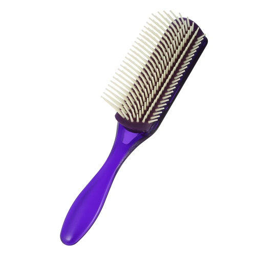 1Pc Hair Comb 9 Row Airbag Brush Anti-estático Hairbrush Nylon Pins Scalp Massage Dentangling Brush Al azar Cores Homens Hairdressing Comb