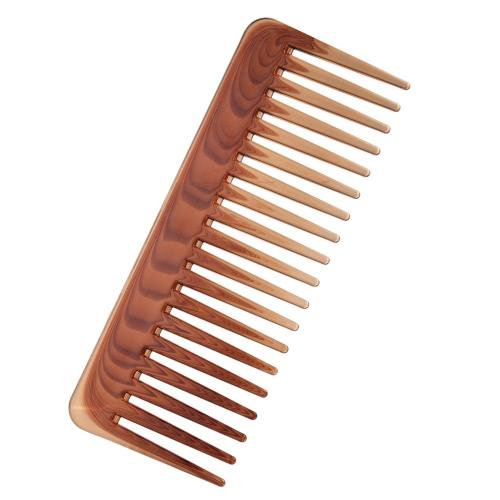 Dientes anchos Peine de salud para el cabello Cepillo de peluquería para peinado de pelo largo o rizado