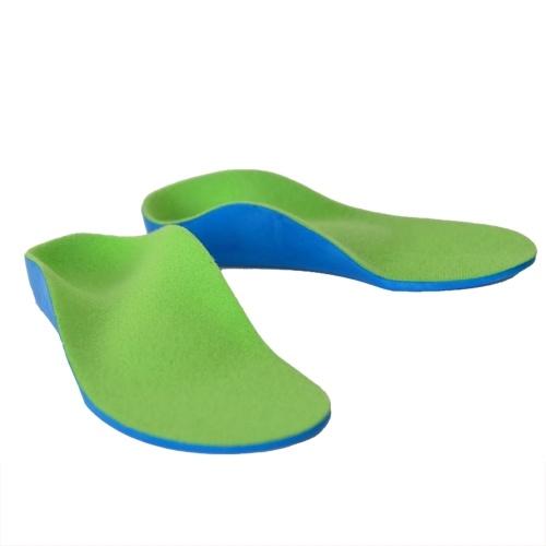 Orthopädische Einlegesohlen für Schuhe Flache Fußgewölbestütze Orthesen Pads