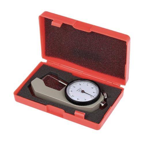 Зубной суппорт Толщина датчика 0-10 мм суппорт с металлическим весом Измерение толщины Стоматологическое лабораторное оборудование Стоматологический инструмент