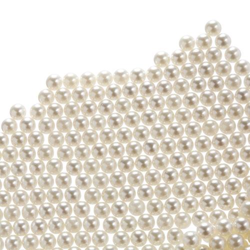 8мм акриловые жемчужины белые сыпучие жемчужные бусины для вазонных наполнителей Ювелирные изделия для украшения (примерно 1800 шт.)