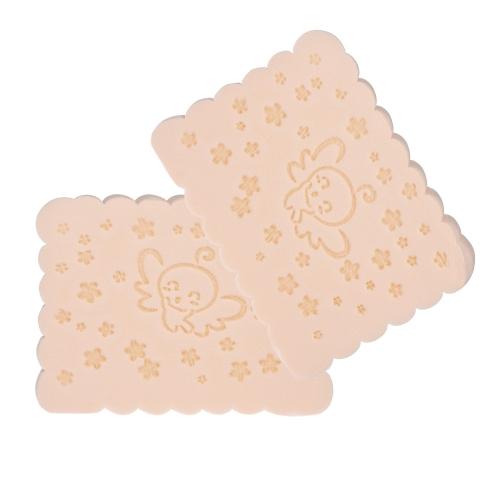 2 Stücke Gesichts Puff Gesicht Sauber Schwamm Gesicht Waschen Schwamm Gesichtsreinigung Werkzeug Schwamm Blätterteig Zufällige Farbe