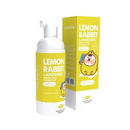 Lanbeibei Kids Zahnpasta für Mundpflege Pump Bubble Strawberry Flavor 2.1 Unze