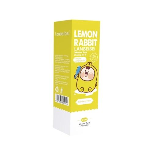 Lanbeibei Kids зубная паста для ухода за полостью рта с пузырьками и клубничным вкусом 2.1 унции фото
