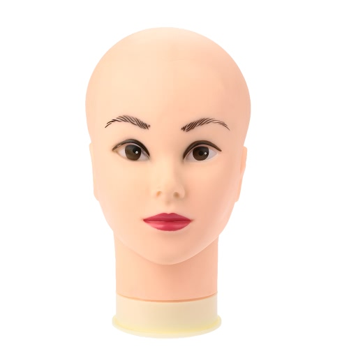 Weibliche Schaufensterpuppe Kopf Modell Perücke Hut Schmuck Display Kosmetik-Salon Phantomkopf