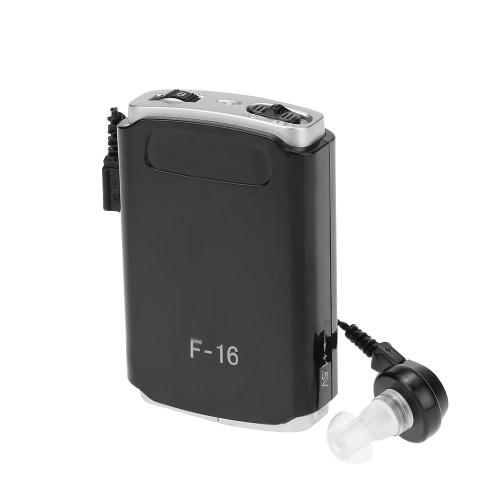 AXON F-16 Карманный слуховыми Mini на ухо усилитель звука Глухой помощи с 3 разного размера беруши тома Регулируемая аудифон для слабослышащих MINI Громкоговоритель