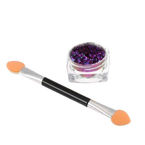 1pc Chrome Nagel-Puder-Nagel Glitter Metallic Nail Powder Shinning Puder-Nagel-Gel-Pulver-Dekoration-Werkzeug 1 #