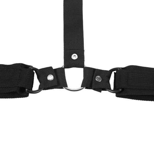 Neck Handcuffs Restraint Bondage Straps Fetish Sex Cuffs BDSM Sex Toys Behind Back Bondage Adjustable Adult Sex Tool