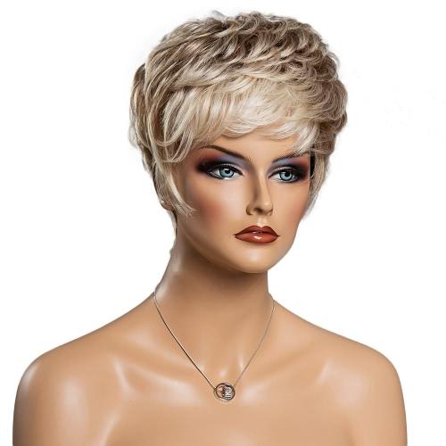 Женщина короткие волосы копной парики повелительниц Cosplay волос партии Ежедневная волос 11