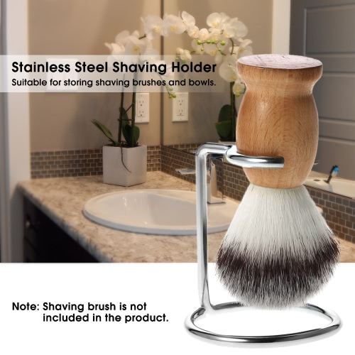 Anself Shaving Holder Stand for Shaving Brush Bowl Shaving Tool Organizer