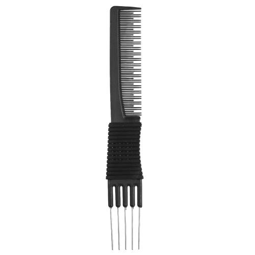 Double-ended 2 Uso Colorante para el cabello Colorante peine plástico Metal Hair Dye cepillos Peluquería Peluquería Peluquería Herramientas de Estilo Peinado de pelo