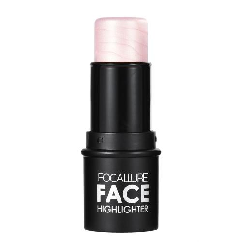 Focallure 1pc Highlighting Pen Maquiagem Stick Woman Concealer Powder Contour Palette Cosmetic Tool Silver