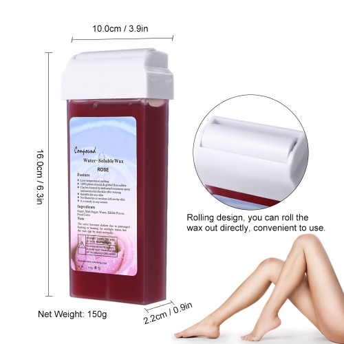 Depilatory Wax Epilator Depilatory Waxing Cream Facial Body Hair Removal Wax Roll On Hot Depilatory Wax 5 Taste